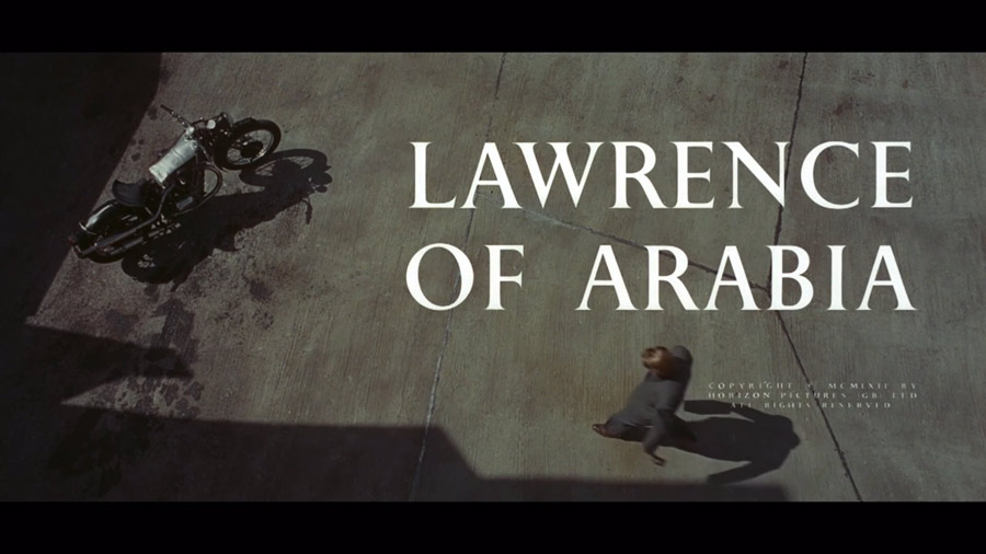 comienzo de lawrence de arabia, srcalle